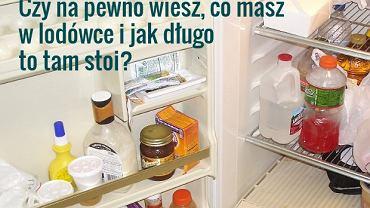 Umyj nie tylko półki i wnętrze lodówki, ale również opakowania produktów