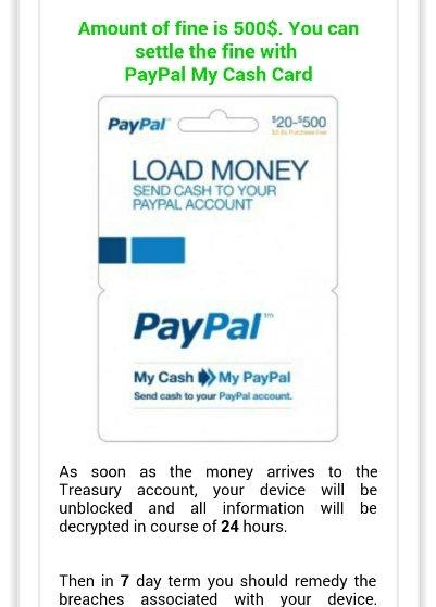 Ekran z żądaniem płatności przez PayPala