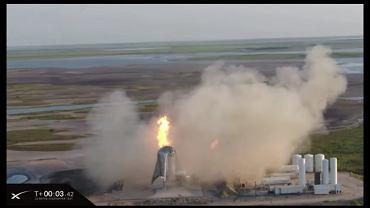 Pożar rakiety SpaceX