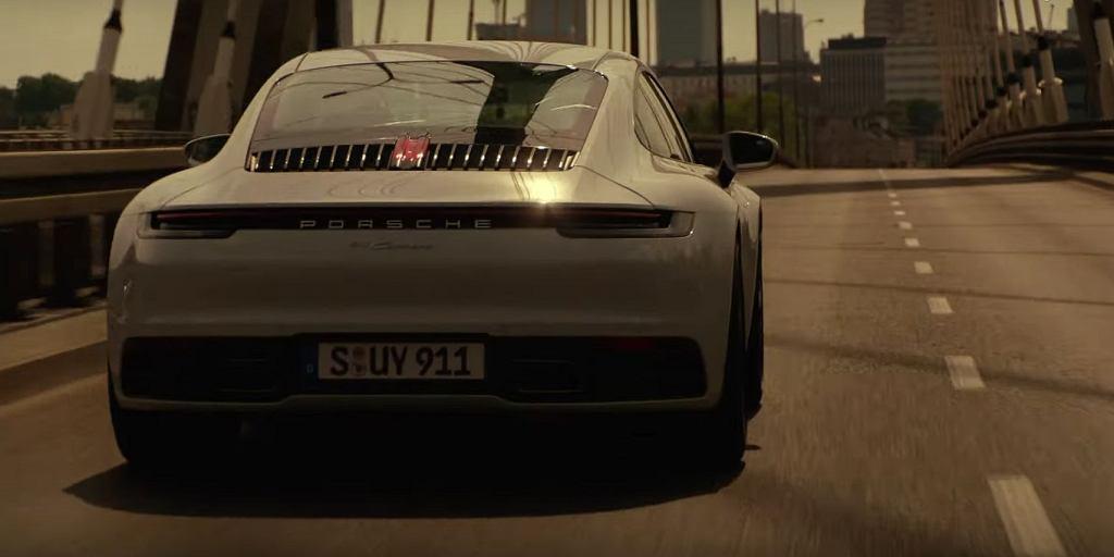Reklama Porsche 911 kręcona w Warszawie