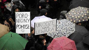 Ogólnopolski Strajk Kobiet, 3 października 2016