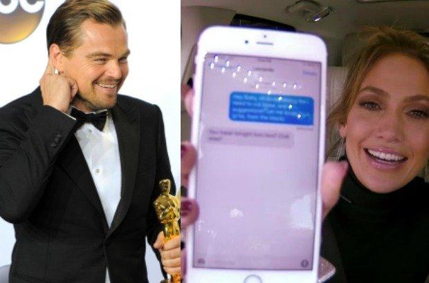 Leonardo DiCaprio, Jennifer Lopez
