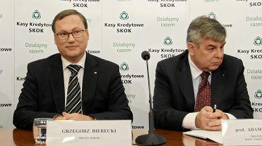 Grzegorz Bierecki i Adam Jedliński
