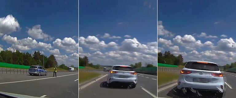 Kontrola prędkości prawie zakończyła się tragedią. Policjanci mogli wybrać lepiej