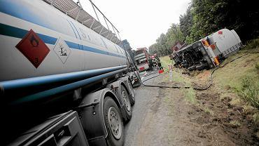 Wypadek cysterny z gazem (zdjęcie ilustracyjne)
