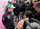 F1. Sergio Perez pozostanie kierowcą Force India w 2019 roku