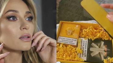 Marcelina Zawadzka i promowane przez nią wyroby tytoniowe