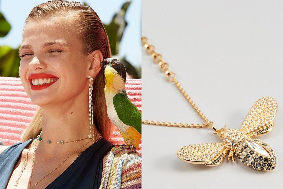 Naszyjniki Swarovski z kryształkami to piękna biżuteria dla każdej kobiety
