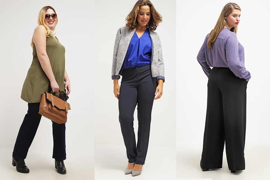 1f72a3d4 Spodnie dla puszystych - jakie fasony wybrać na co dzień i na ...