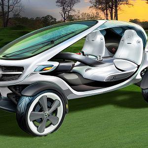 Prezentując Vision Golf Cart, Mercedes myśli o stworzeniu nowego segmentu na rynku