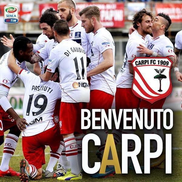 Carpi w Serie A