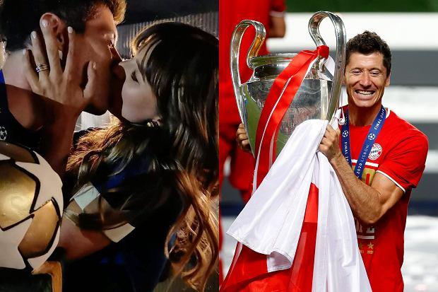 Anna i Robert Lewandowscy zorganizowali przyjęcie z okazji wygranej Bayernu Monachium w finale Ligi Mistrzów. Były czułości zakochanych, najbliższa rodzina, a także smakowity tort.
