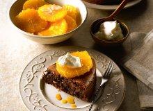 Czekoladowe clafoutis z karmelizowanymi pomarańczami - ugotuj