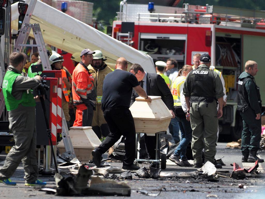 W wypadku autokaru zginęło 18 osób
