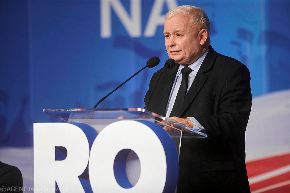 Wybory parlamentarne 2019. Jarosław Kaczyński, prezes PiS