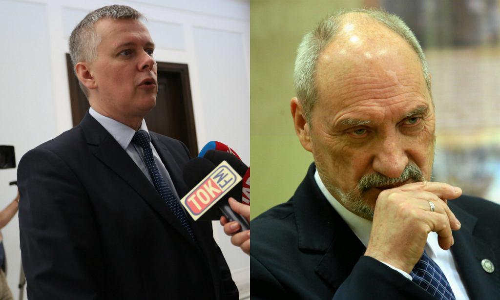 Tomasz Siemoniak, Antoni Macierewicz