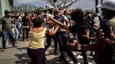 Protesty na Kubie w niedzielę 11 lipca
