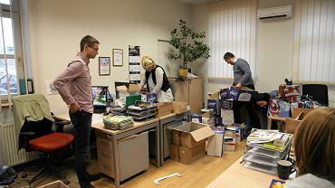 Pakowanie prezentów w ramach Fabryki św. Mikołaja