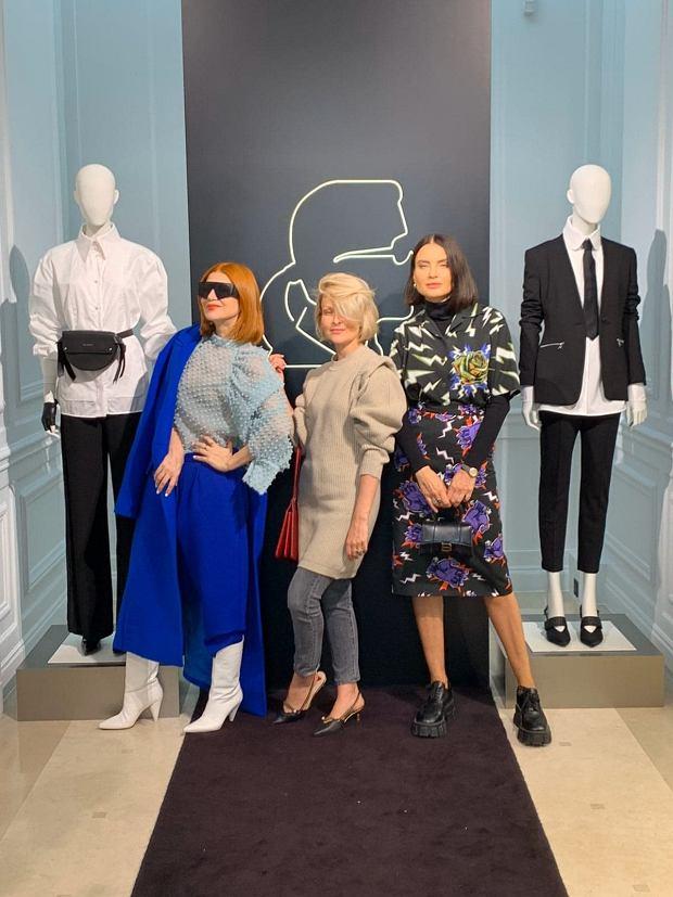 Paris Fashion Week 2019. Joanna Horodyńska, Ada Fijał i Marieta Żukowska na premierze kosmetyków Karl Lagerfeld x L'Oreal