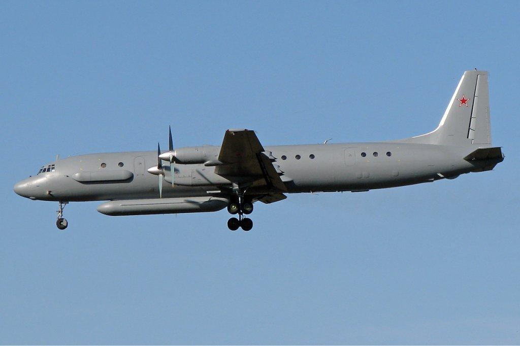 Rosyjski samolot Ił-20