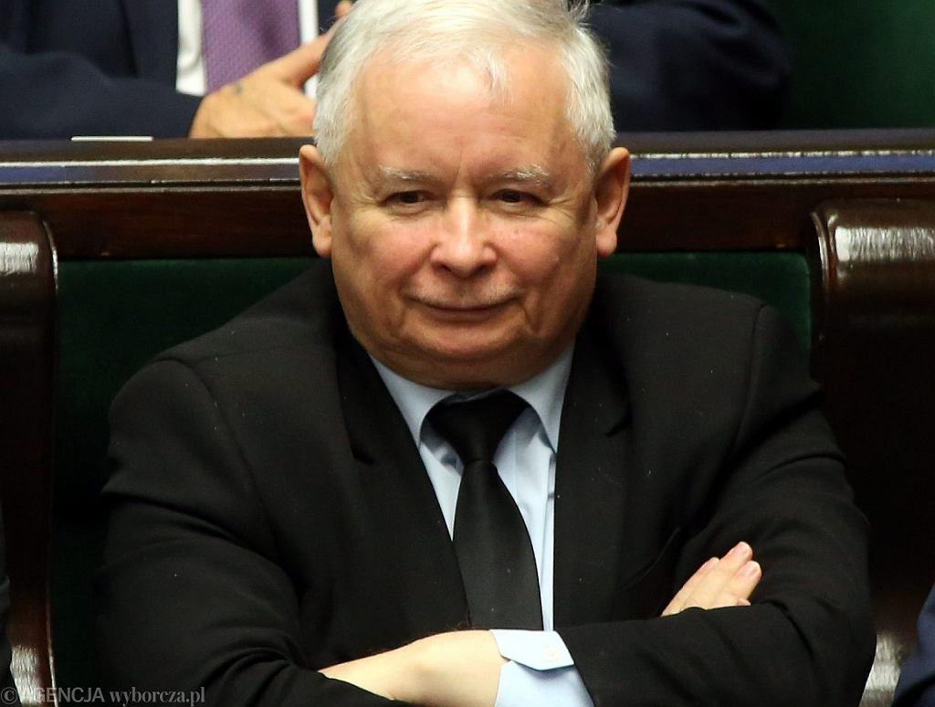 Jarosław Kaczyński (fot. Sławomir Kamiński/AG)