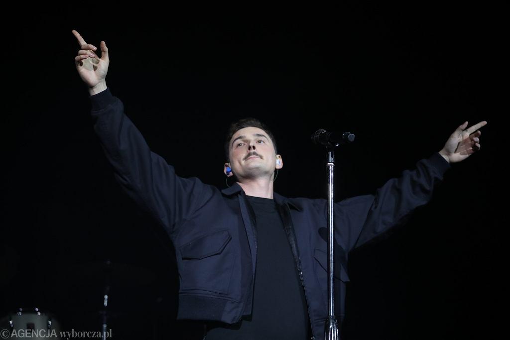 Dawid Podsiadło na PGE Stadionie Narodowym