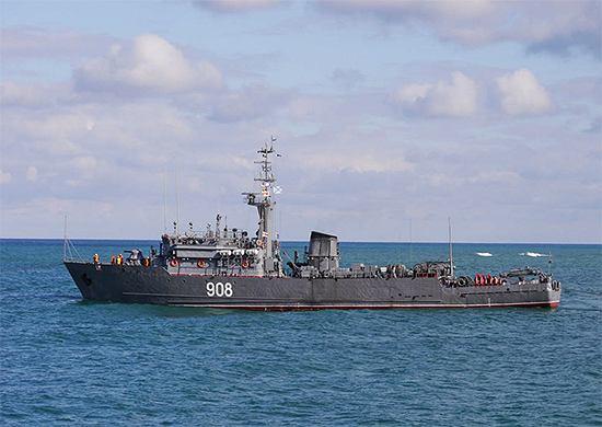 Trałowiec wiceadmirał Zacharin