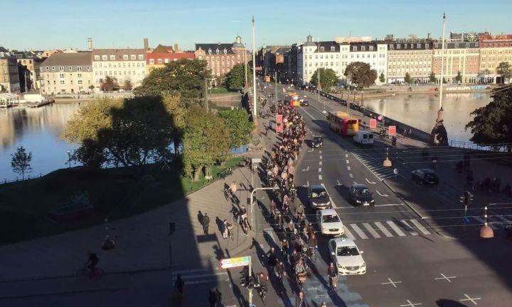 Godziny szczytu w Kopenhadze