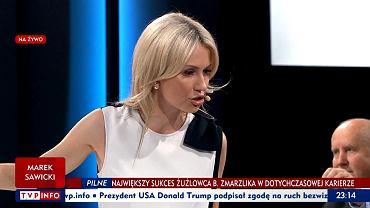Magdalena Ogórek w Studio Polska