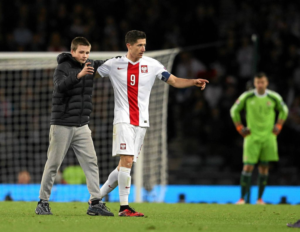 Ryan i Robert Lewandowski