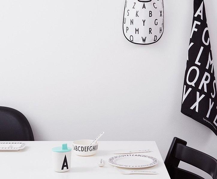Design Letters, czcionka Arne Jacobsena podbija naczynia