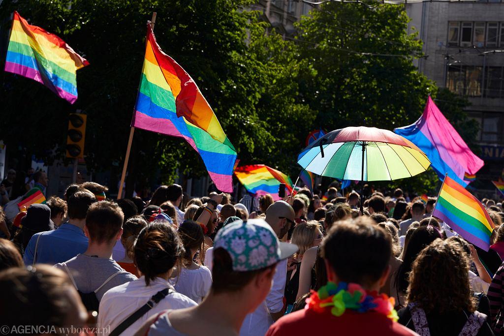 Marsz Równości w Poznaniu, lipiec 2021