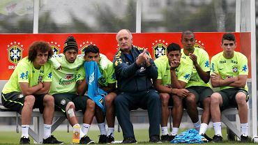 Trening reprezentacji Brazylii