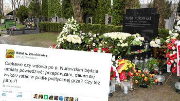 Wpis Rafała Ziemkiewicza po ekshumacji szczątków Piotra Nurowskiego
