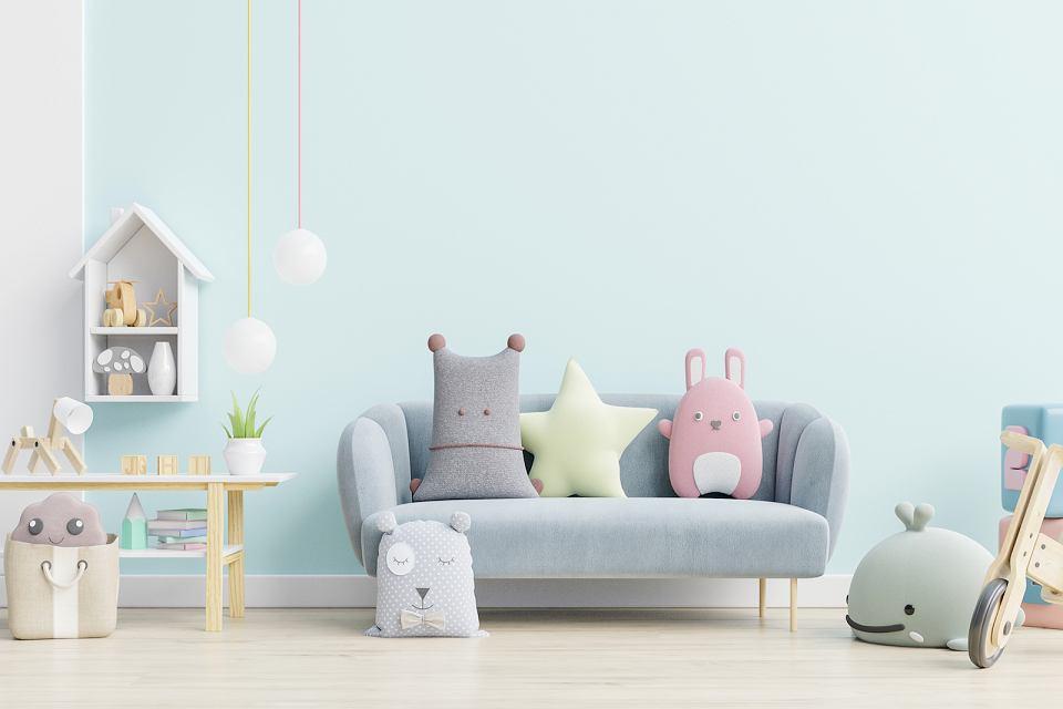 Ozdobne poduszki do pokoju chłopca i dziewczynki.