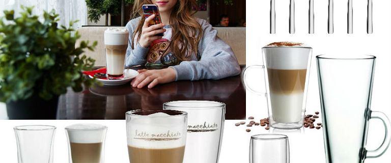 Akcesoria do przygotowania i serwowania latte