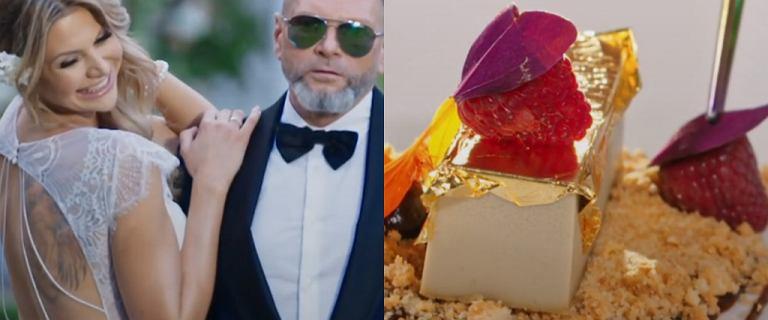 Rutkowski pokazał przygotowania do wesela. Na stołach przystawki z 24-karatowym złotem