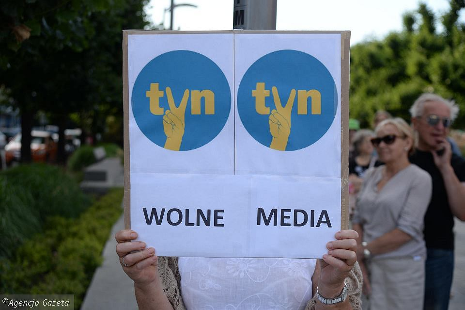 We wtorek w całej Polsce odbędzie się protest przeciw 'lex TVN' i w obronie wolnych mediów