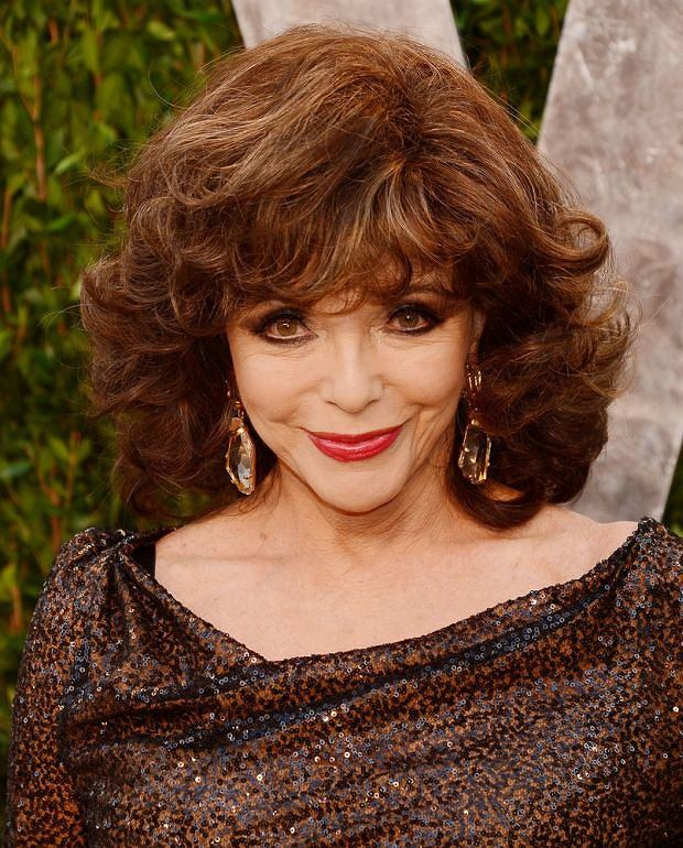Pictured: Joan Collins  Mandatory Credit ?? Gilbert Flores/Broadimage  2013 Vanity Fair Oscar Party - Arrivals    2/24/13, West Hollywood , California, United States of America    Broadimage Newswire  Los Angeles 1+  (310) 301-1027  New York      1+  (646) 827-9134  sales@broadimage.com  http://www.broadimage.com