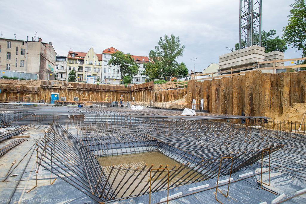 Plac budowy, zdjęcie ilustracyjne