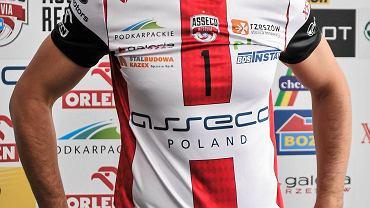 Dawid Konarski w nowej koszulce Asseco Resovii