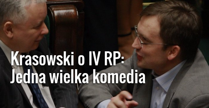 Krasowski o IV RP