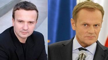 Andrzej Stankiewicz i Donald Tusk