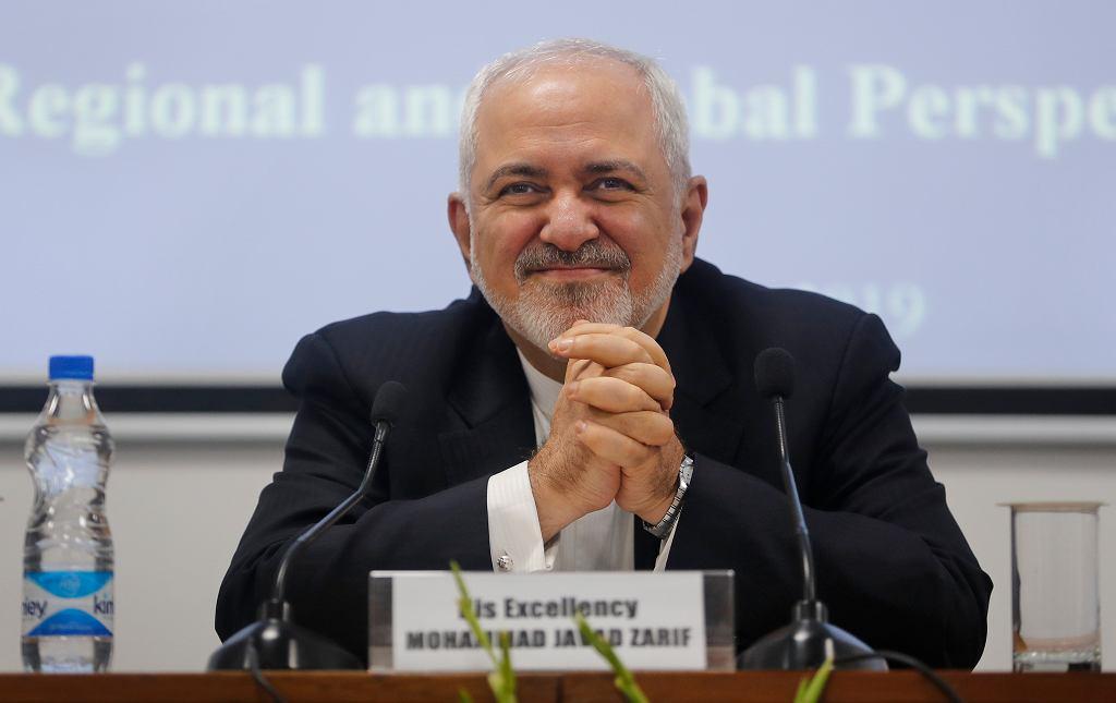 Minister spraw zagranicznych Iranu Javad Zarif