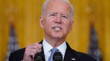 Prezydent USA Joe Biden