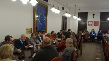 Posiedzenie komisji jednostek pomocniczych miasta