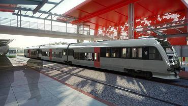 Tak ma wyglądać trójczłonowy pociąg PKM od Pesy