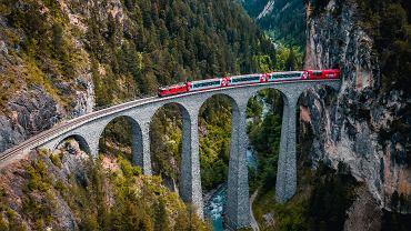 Najpiękniejsze trasy kolejowe w Europie