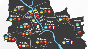 Obcokrajowcy w Warszawie