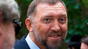 Oleg Deripaska - zaprzyjaźniony z Putinem rosyjski oligarcha, zarządzający spółkami En+ i Rusal